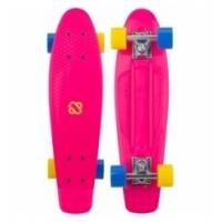 Riedlentė NIJDAM PUNKY POWER N30BA05 violetinė / geltona / mėlyna
