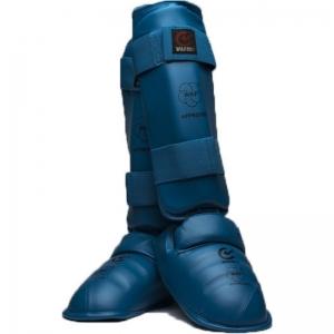 Karate apsauga blauzdai ir pėdai MATSURU WKF patvirtinta M dydis